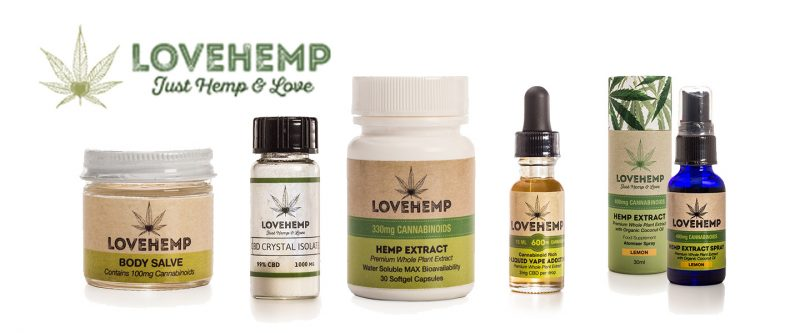 LOVEHEMP - CBD Oil Europe