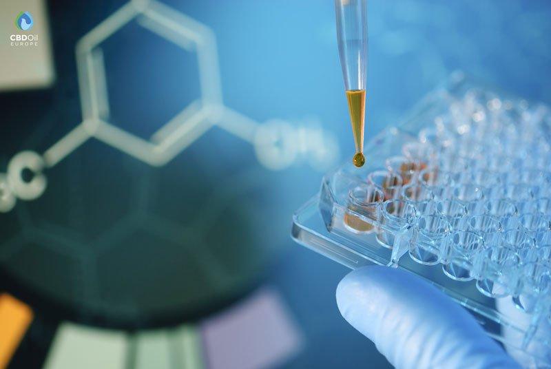 Cannabinoid testing Pipette hplc test CBDOilEurope.com