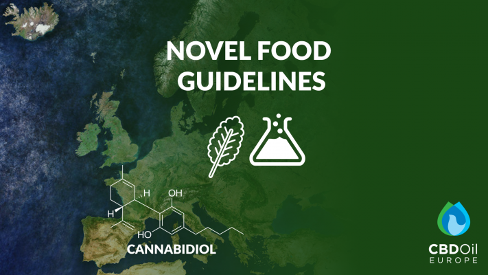 Novel Food Guidelines Cannabidiol