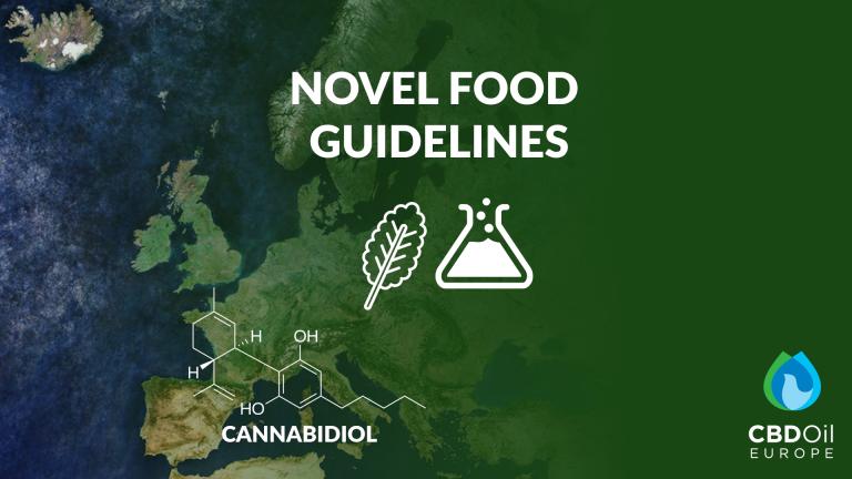 Novel Food Guidelines Cannabidiol