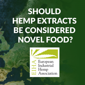 Hemp CBD Extracts Novel Food