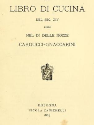 Libro de Cucina Carducci Gnaccarini