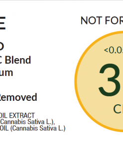 3% Purified Label