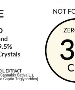 3% Zero THC Label