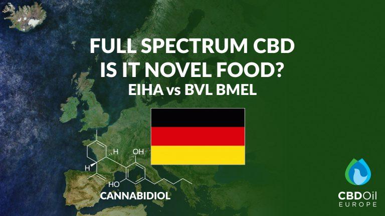 Full Spectrum CBD - Novel Food Germany