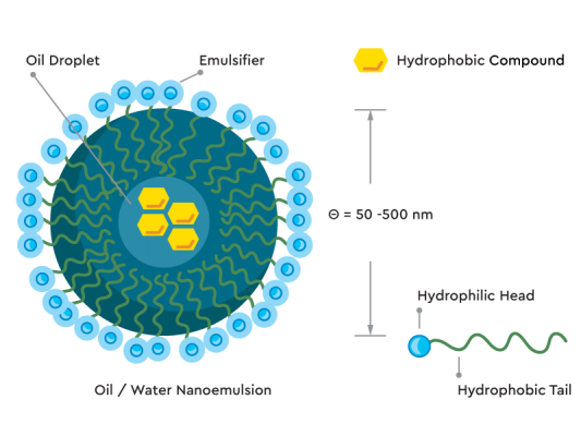 Nano Emulsified Water Soluble CBD - CBD Oil Europe